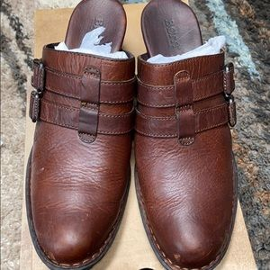 Born Sine Dark Brown Mules